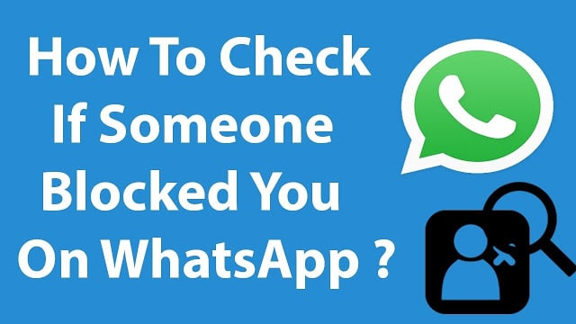 know who has blocked you on Whatsapp